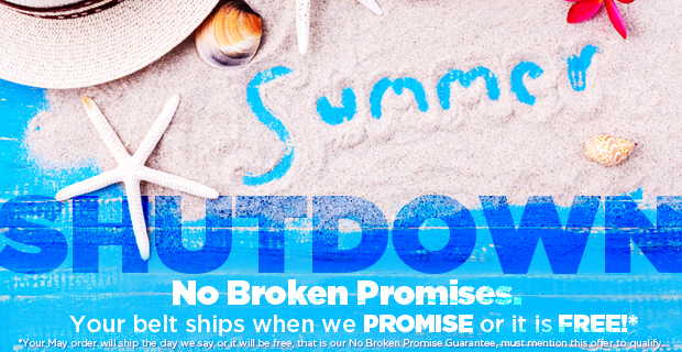 Let us handle your Summer Shutdown for you