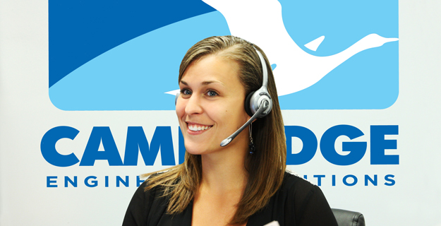 Cambridge customer service agents are available 24/7/365