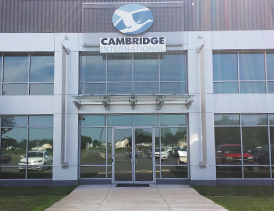 Cambridge's international headquarters is located in Cambridge Maryland